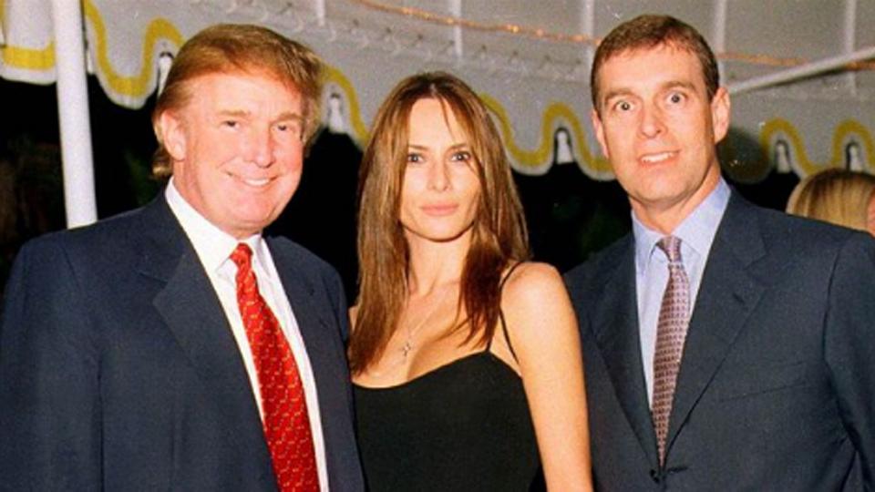 Donald Trump Melania Trump Prince Andrew