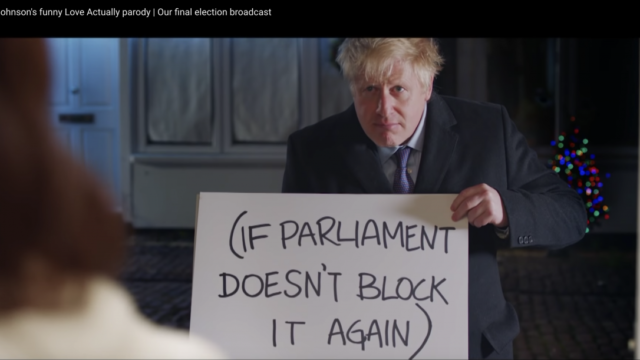 Love, Actually inspires UK election memes – and controversy