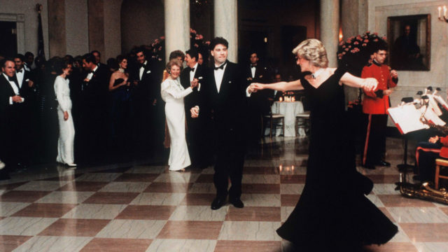 Diana's Travolta gown goes under the hammer