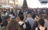 adelaide airport evacuated