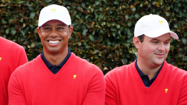 Presidents Cup Golf: Tiger Woods selects himself for opening four-ball match