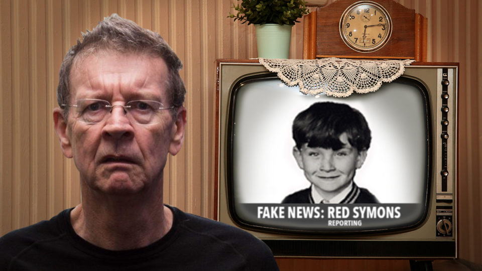 Red Symons fake news