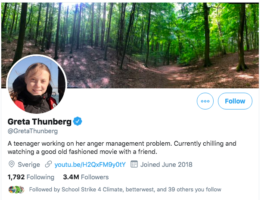 greta thunberg time trump