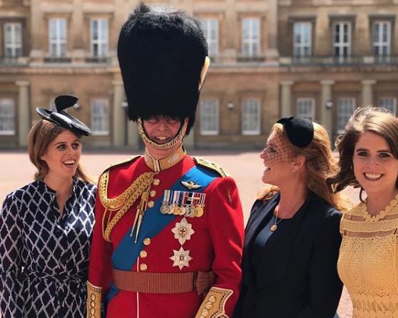 Prince Andrew Princess Beatrice Princess Eugenie Sarah Ferguson
