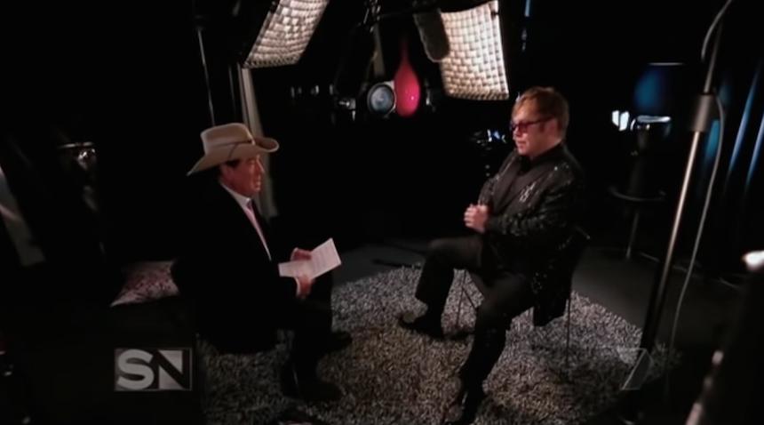 Molly Meldrum Elton John