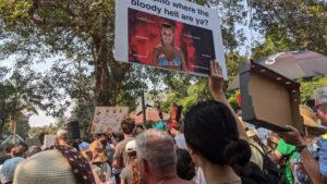 climate protest kiribilli pm