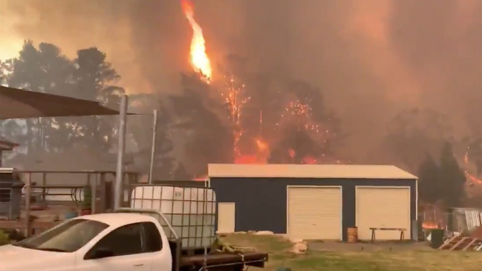 sydney fire emergency