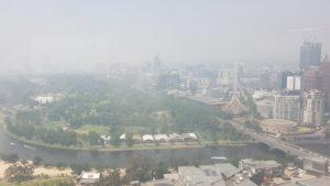 melbourne nsw bushfires smoke