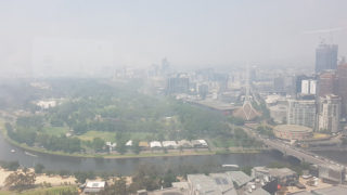 melbourne nsw bushfires smoke