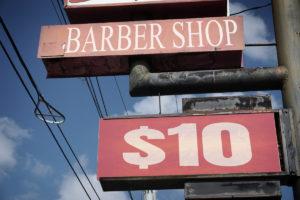texas barber shot haircut