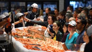 sydney fish market christmas
