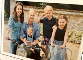 Kate Middleton Prince William Prince George Princess Charlotte Prince Louis