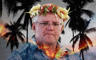 scott morrison richard flanagan gaslighting