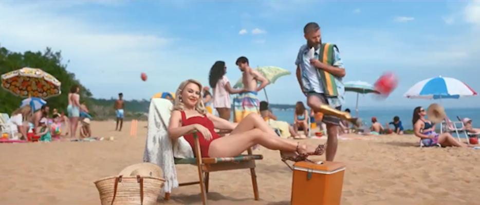 Adam Hills Kylie Minogue