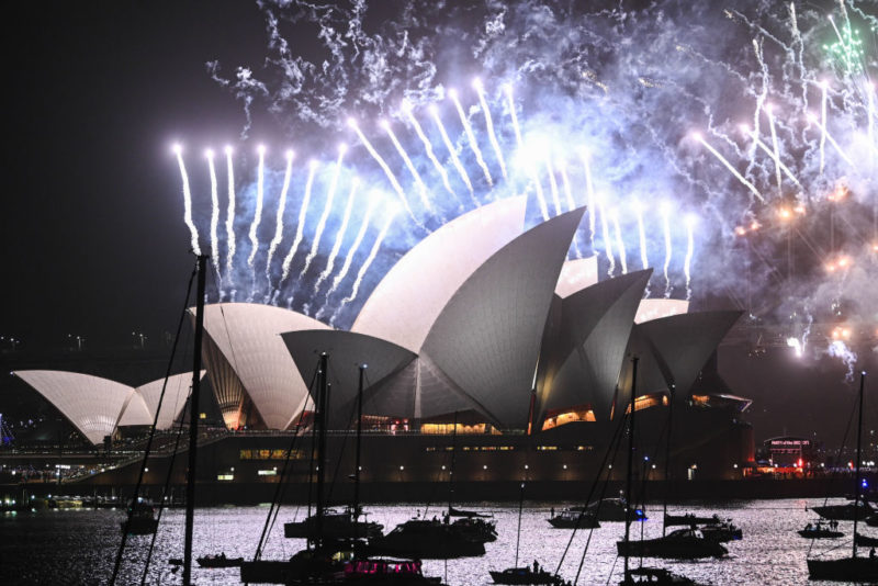 Fireworks across Australia: How the nation celebrated as the clock ticked over to 2020_1