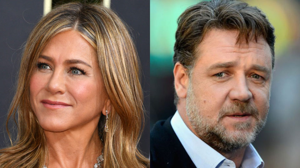 jennifer aniston russell crowe