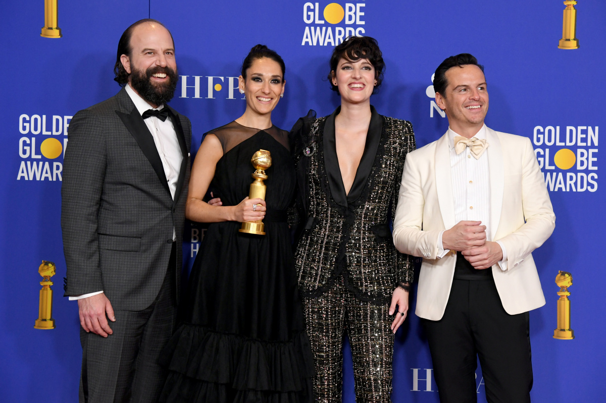 Brett Gelman Sian Clifford Phoebe Waller-Bridge Andrew Scott