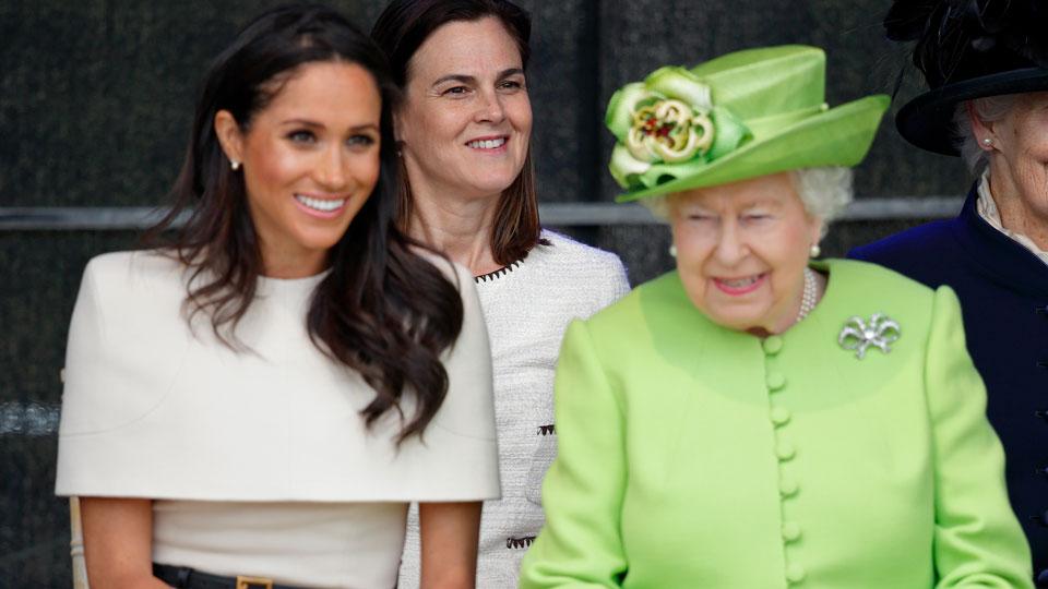 Meghan Markle Queen Elizabeth