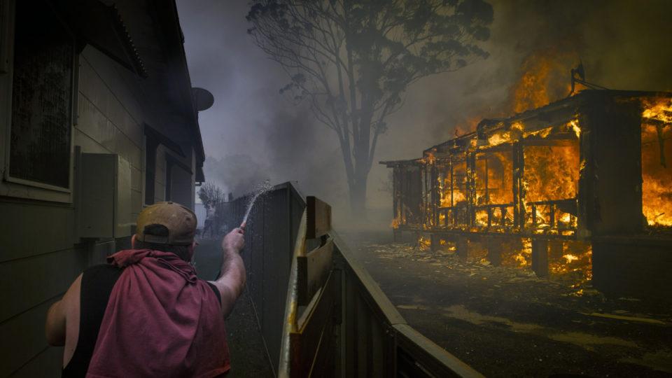 Rupert Murdoch bushfires