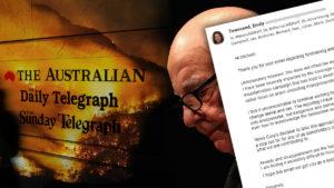 murdoch news corp bushfire
