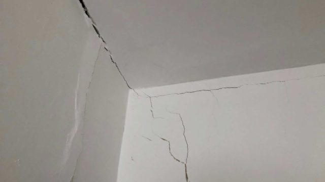 This house in Sydney's inner-west was built in 1891, and its current owner has never seen it cracking this badly before. <i>Photo: Sandra Eckersley</i>