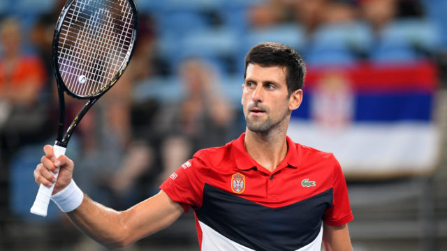 Djokovic steers Serbia into ATP Cup final
