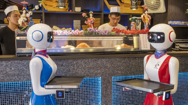 2020 food trends: From robot waiters to plant-based and lab-grown meat