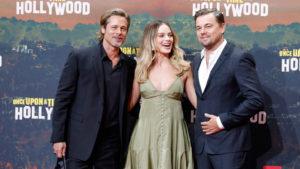 Brad Pitt Margot Robbie Leonardo DiCaprio