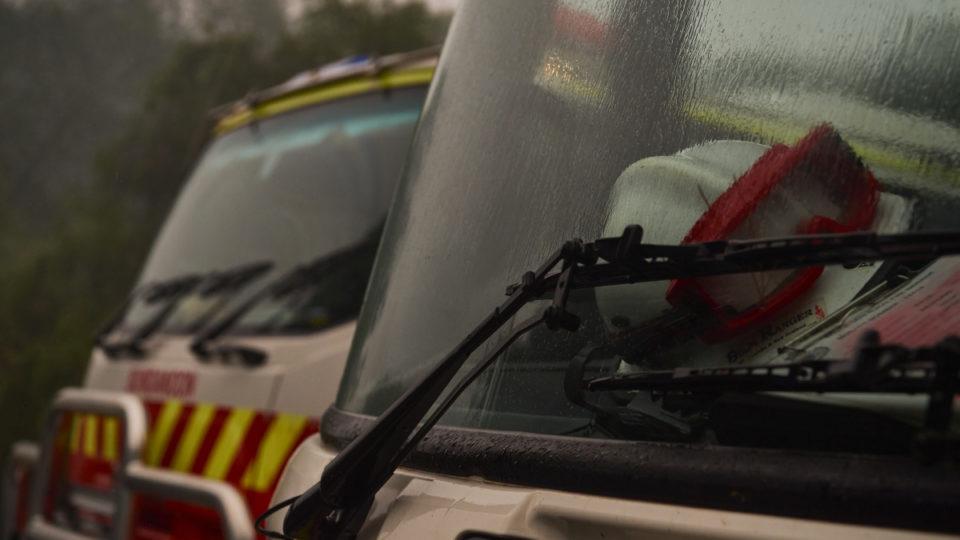 rain bushfires