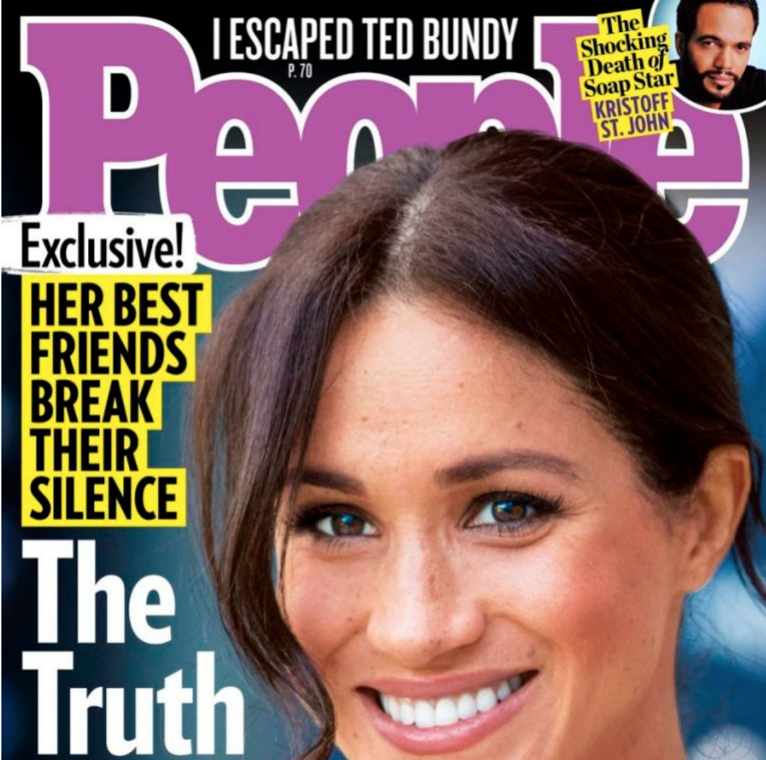 People magazine Meghan Markle