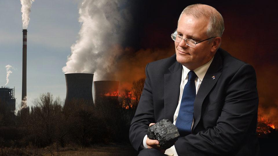 scott morrison coal