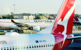 qantas flights cut coronavirus