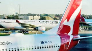 qantas flights cut coronavirus