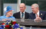 The Queen Prince Philip Prince Andrew