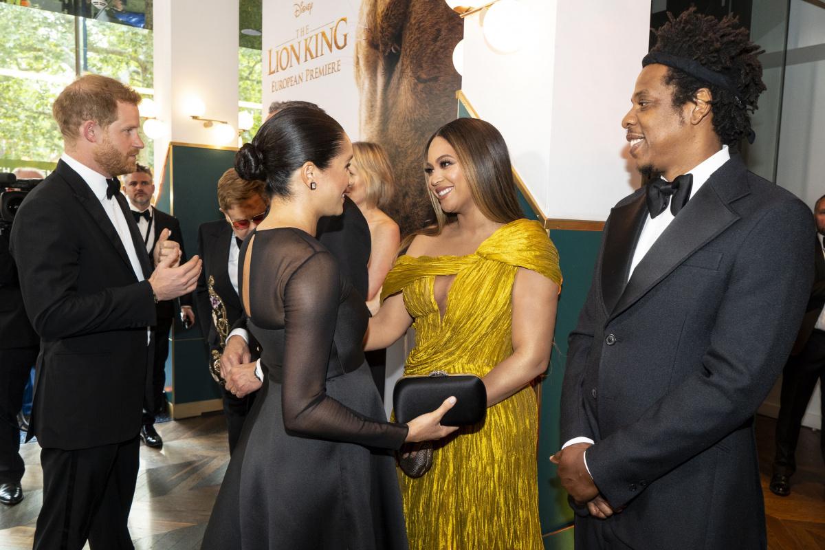 Meghan Markle Prince Harry Jay Z Beyonce