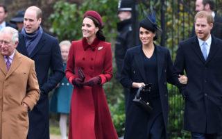 Prince Charles Prince William Kate Middleton Meghan Markle Prince Harry
