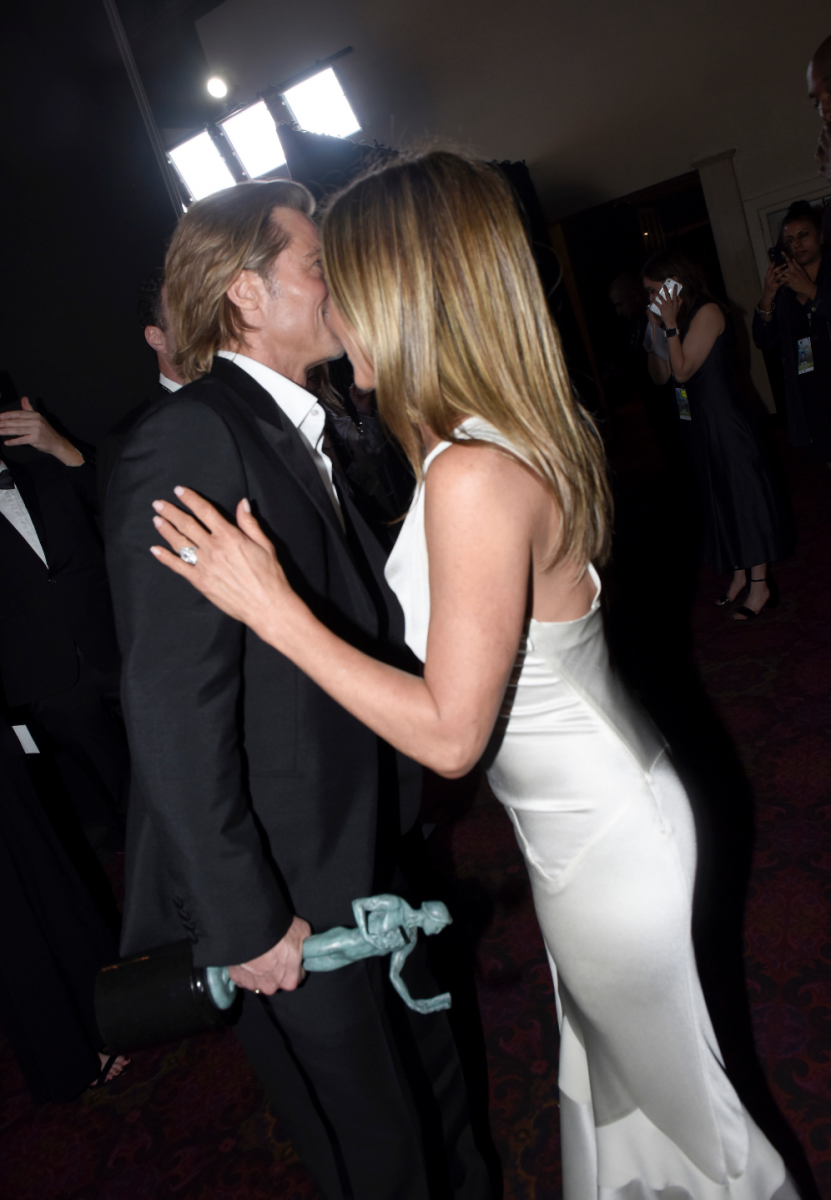 Screen Actors Guild Awards 2020: Brad And Jen Steal The Show