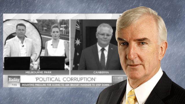 Anatomy of a snow job: Scott Morrison whitewashes corruption