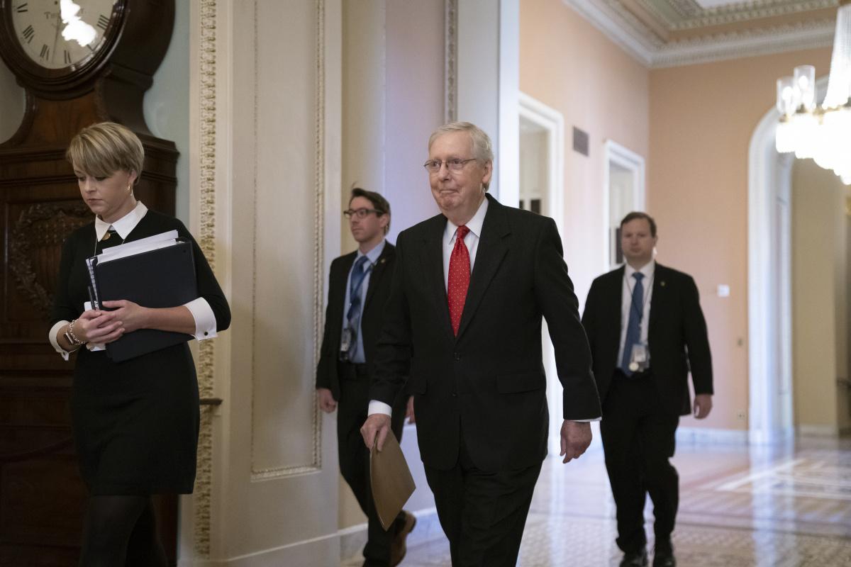 Democrats blast Donald Trump impeachment trial rules_2