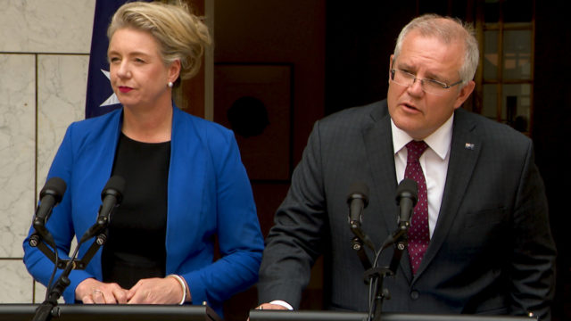 Prime Minister Scott Morrison refers sports rorts scandal to department boss