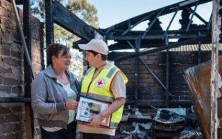 andrew constance bushfire charity delays