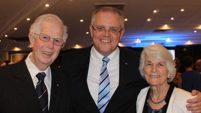 John Morrison, father of Prime Minister Scott Morrison, dies