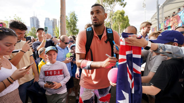 Australian Open: Say hello to the new, possibly maturing, Nick Kyrgios