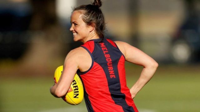 A year after having twins, Daisy Pearce is ready to return to the footy field