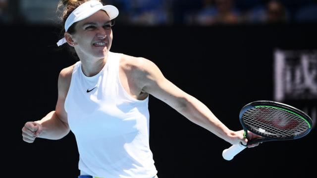 Australian Open: Simona Halep storms into quarter-finals