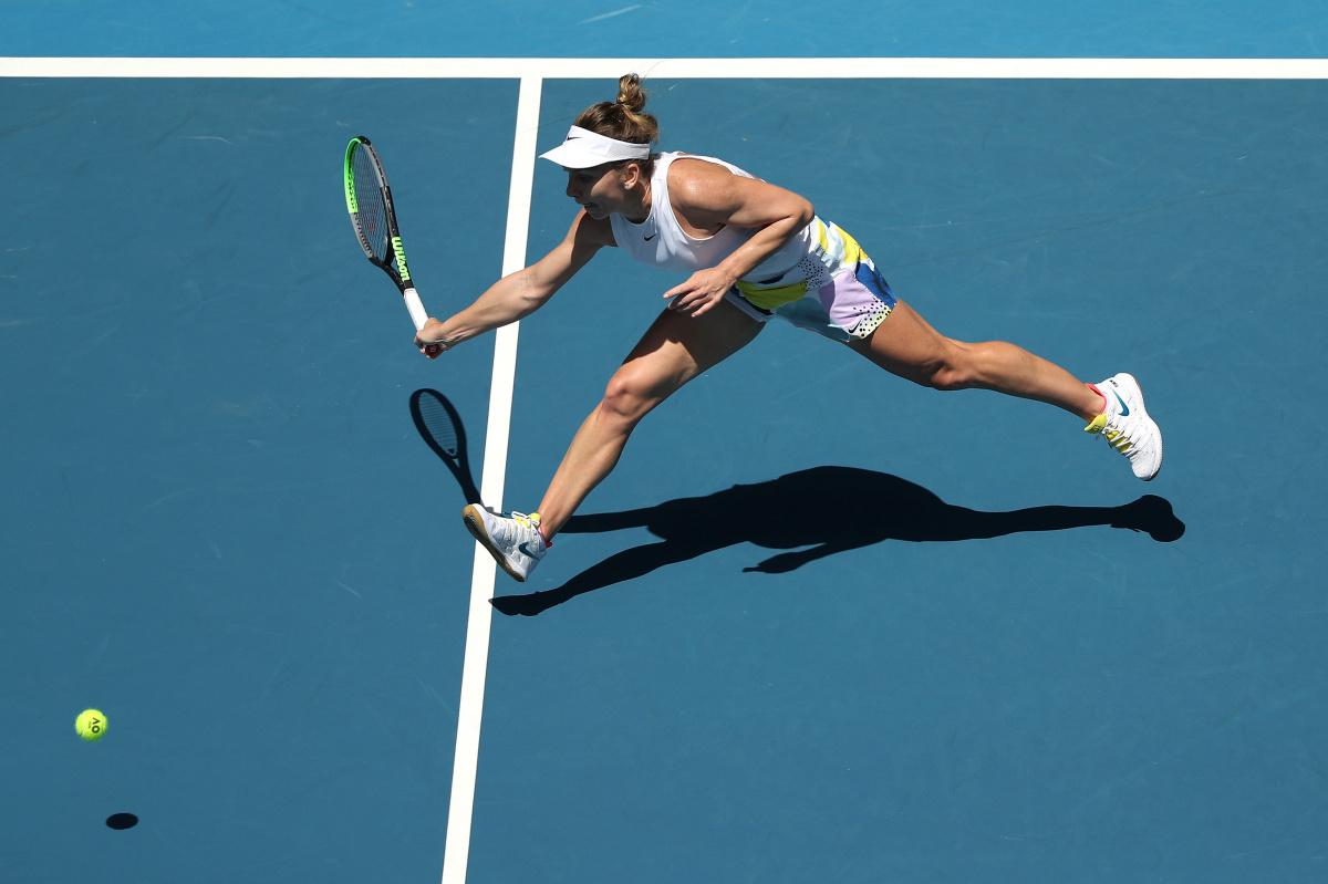 Australian Open: Simona Halep storms into quarter-finals_1