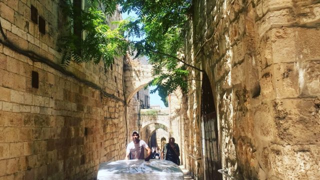 Jerusalem's old town is a wonder of sights, sounds – and tastes. Photo: Janne Apelgren