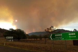 heatwave fire danger