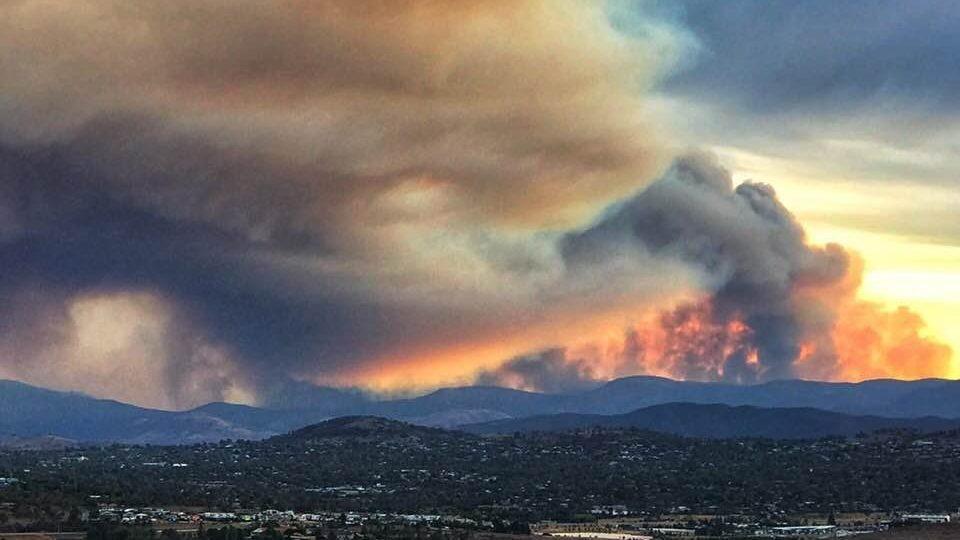 canberra fires