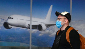 airport workers masks coronavirus